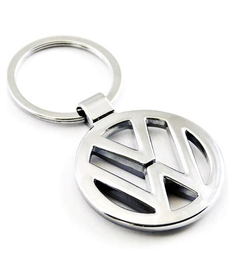 eshop24x7 volkswagen chrome plated steel imported key