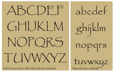 free printable primitive letter stencils americana stencils on ebay
