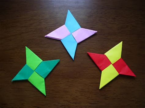 Cool And Easy Paper Crafts - katakoto origami how to make origami syuriken