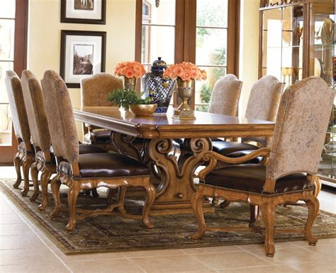 thomasville dining room sets star furniture thomasville hills of tuscany dining 3049 table only dining room pinterest