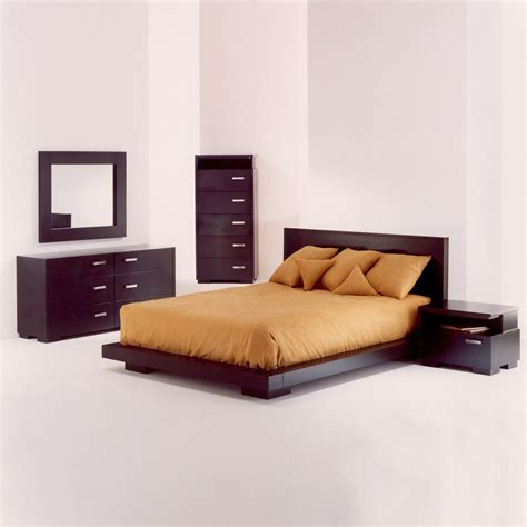 bed set king size platform bedroom sets home furniture design