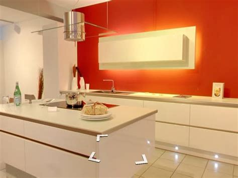 ausgefallene küchen k 252 che k 252 che weiss orange k 252 che wei 223 at k 252 che weiss