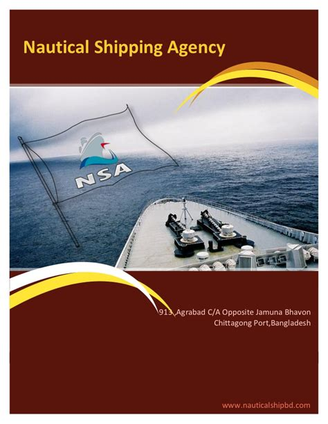 Mba Shipping Agencies Llc by Nautical Shipping Agency