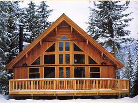 Log Cabin Floor Plans With Loft by A Frame Cabin Kits Cabin Chalet House Plans Chalet Plans