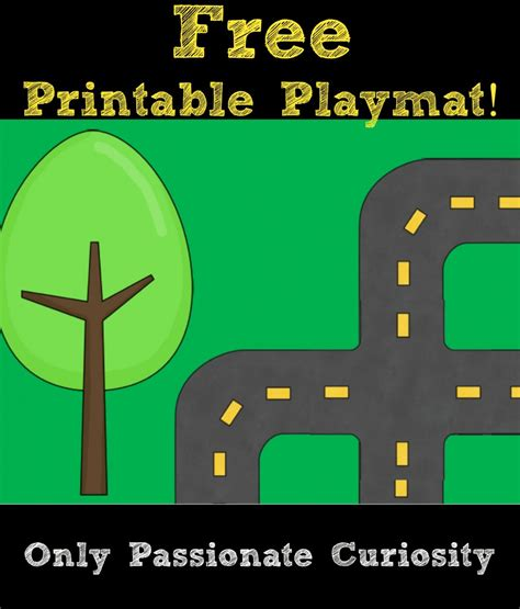 printable road printable road playmat and german road signs only