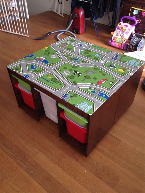 ikea hack play table speeltafel toy rooms lego room
