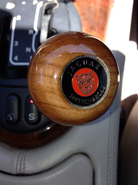Personalized Shift Knobs by Custom Wooden Shift Knob For Xkr Jaguar Forums Jaguar