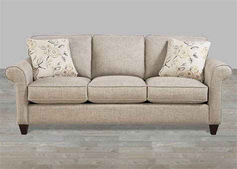 custom upholstered fabric sofa bridgewater
