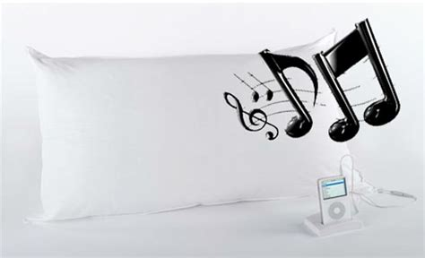 Mp3 Player Pillow by Sound Asleep Mp3 Pillow