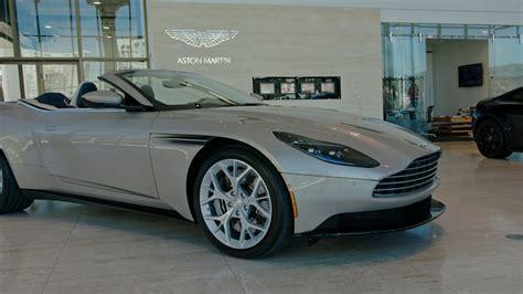 Aston Martin Of Palm by The 2018 Db11 Volante Aston Martin Palm