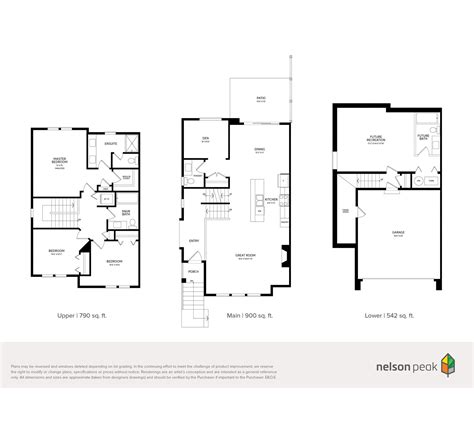 portrait homes floor plans nelson peak maple ridge portrait homes