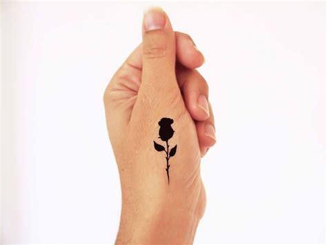 henna tattoo schwarz mini temporary tattoos set of 4 tiny