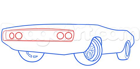 1970 dodge charger drawing how to draw the fast and furious 1970 dodge charger step