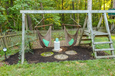 tree swings lowes 15 diy swing set build a backyard play area for your kids