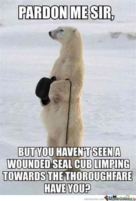 Dancing Polar Bear Meme - image gallery ice bear meme