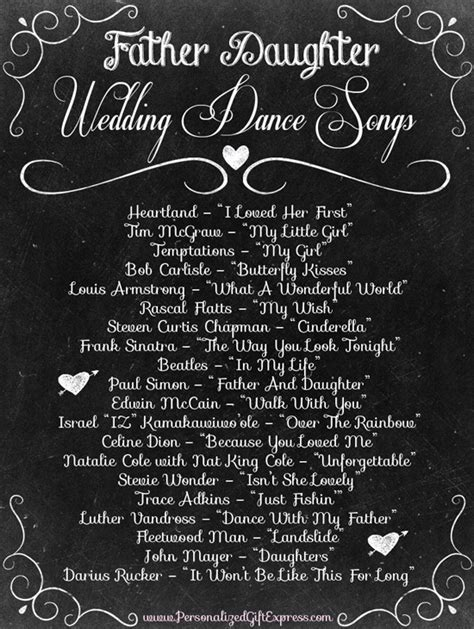 Top 20 Father Daughter Wedding Dance Songs   Wedding dance