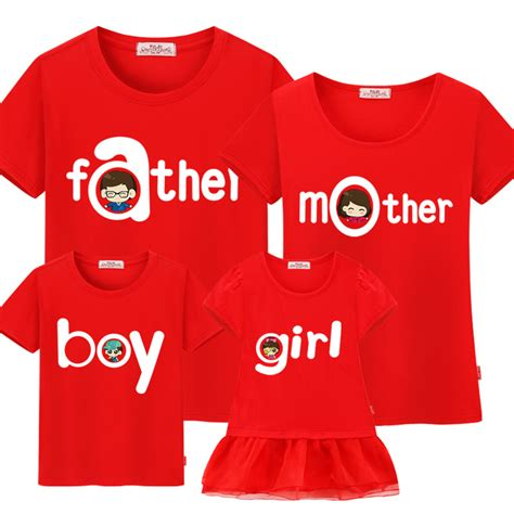 Matching Shirts In Stores Aliexpress Buy 2017 Family Matching Summer