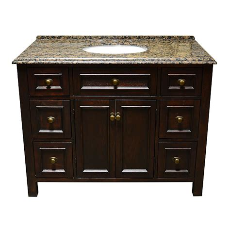 bathroom vanity 45 inch adf allington 45 inch stone top single sink bathroom vanity
