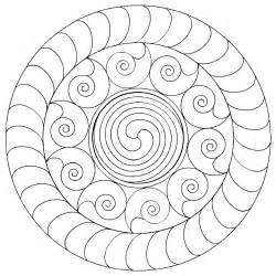 free coloring pages healing mandala