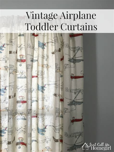 vintage airplane curtains vintage airplane toddler curtains just call me homegirl