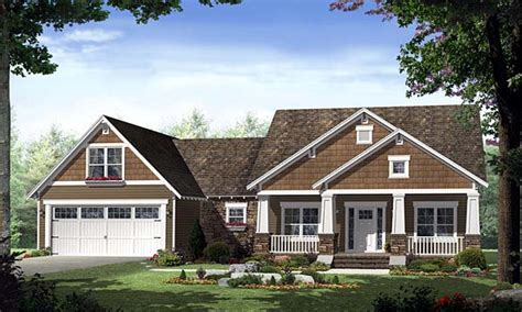 Craftsman Style House Plans One Story by Best Craftsman Style Single Story House Plans House