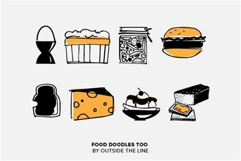 food doodle fonts 258 best ideas about symbol icon fonts on