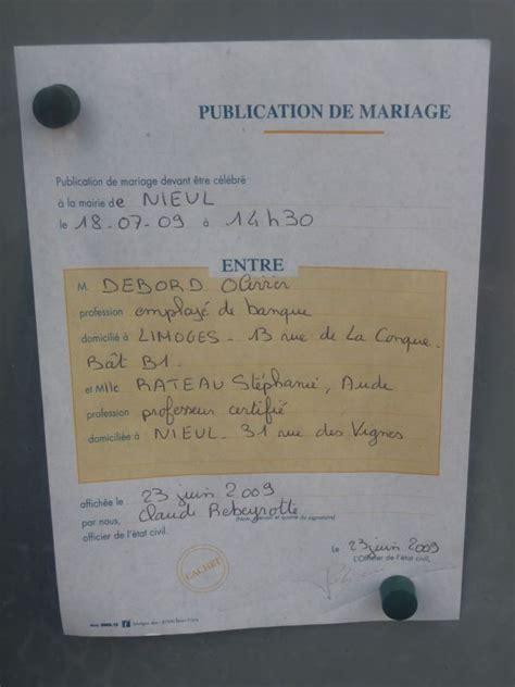 Publication Des Bancs by Publication De Bancs St 233 Phanie Et Olivier Mariage Le