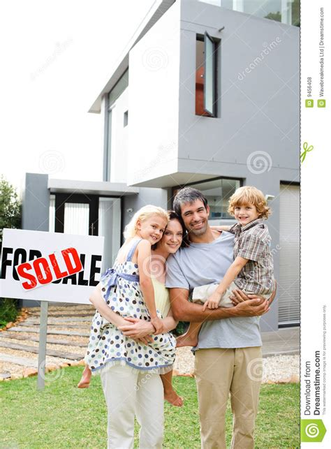 buying house from family family buying a house royalty free stock photos image