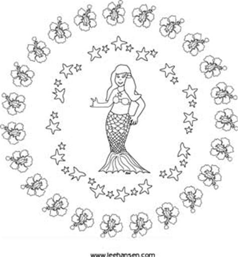 mermaid mandala coloring pages pin peace mandalas colouring pages on pinterest