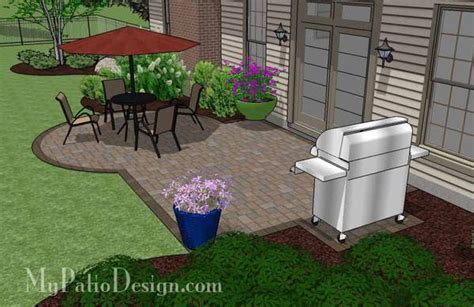 small patio design on a budget plan