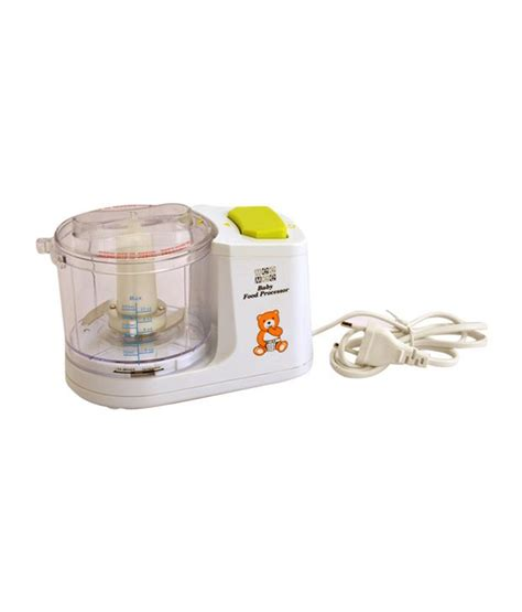 Baby Food Blender India Mee Mee Baby Food Processor Buy Mee Mee Baby Food