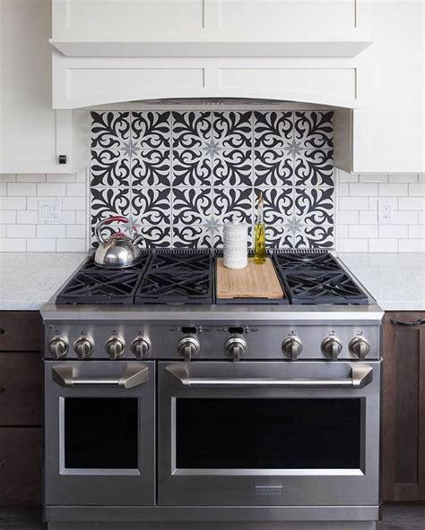 kitchen range backsplash 2 110 likes 35 comments cement tile shop cementtileshop on instagram this kitchen