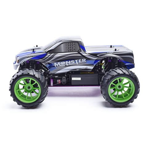 hsp nitro monster hsp rc car 1 10 2 4ghz nitro power 4wd off road monster