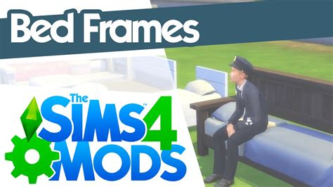 4 bed frame the sims 4 mods bed frames