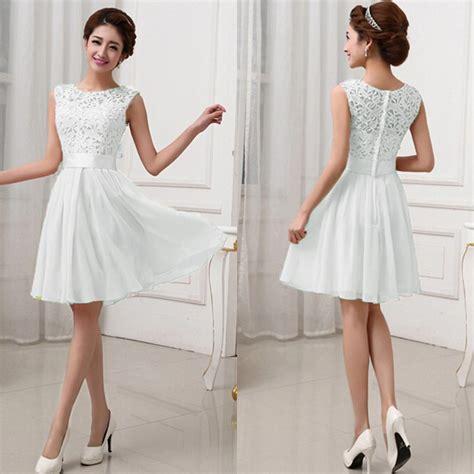 Sleeveless Lace Dress Intl lace sleeveless princess wedding formal