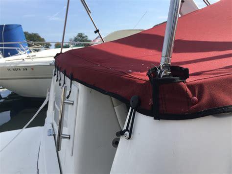 rinker boat covers rinker fiesta vee 270 chicago marine canvas custom