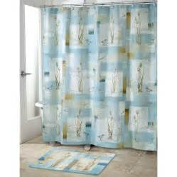 Shower Curtain Bathroom Set Blue Waters Bath Set 5 Coastal Nautical Decor Shower Curtain Rug And More