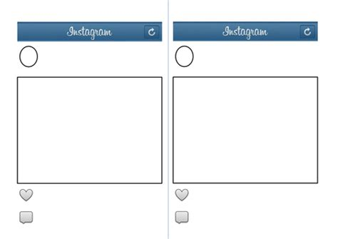 Instagram Template By Eilidhpie Teaching Resources Tes Instagram Template For Students