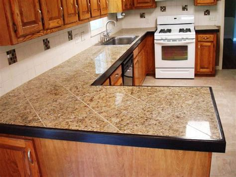 Tile Countertops 17 Best Ideas About Tile Kitchen Countertops On