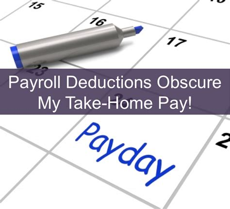 problems payroll deductions are annoying