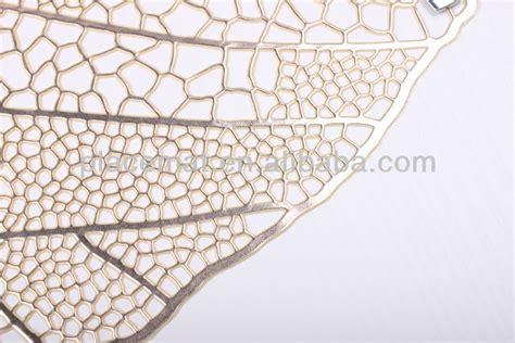 leaf pattern placemats vinyl leaf shaped placemat view leaf shaped placemat