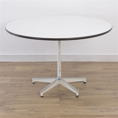 Contract Dining Tables 5 Base Contract Dining Table By Charles And Eames For Herman Miller 48331