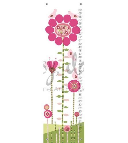 Afternoon Gossipy Goodness Snarky Gossip 8 by Afternoon Gossip In Pink And Green Growth Chart By Oopsy