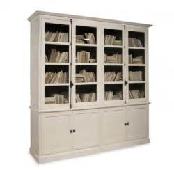 Shelf Cabinet With Doors Inga Swedish Four Door Bookcase Cabinet