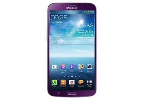 Samsung Galaxy Mega 6 3 Hitam samsung galaxy mega 6 3 warna ungu resmi dirilis katalog