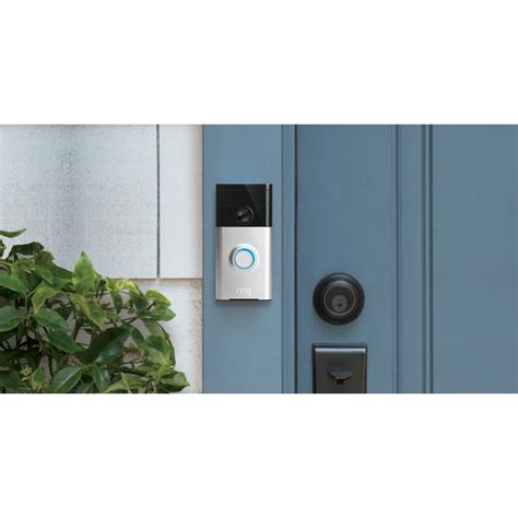 ring home outdoor security kit with doorbell stick up