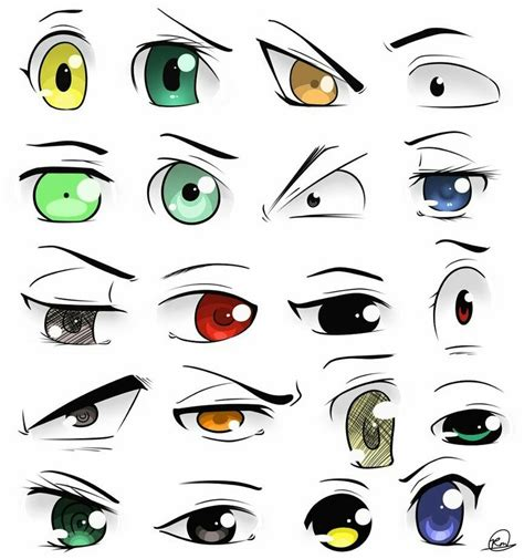Unique Anime Eyes Cool Eyes Anime Pinterest Eye Drawing Stuff And