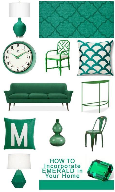 color your home emerald green the decollage 73 best images about green with envy everything green on