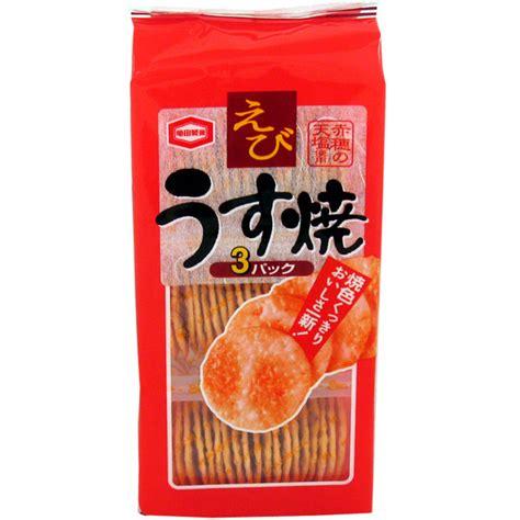 Kameda Ebi Usuyaki japan centre kamedaseika thin prawn rice crackers