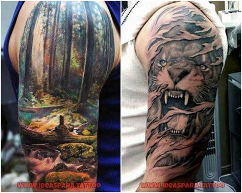 imagenes tatuajes media manga para hombres tatuajes media manga ideas para tatuajes de hombre